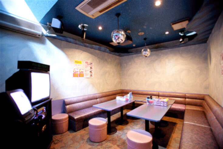 Japanese Karaoke Room In The 1980s