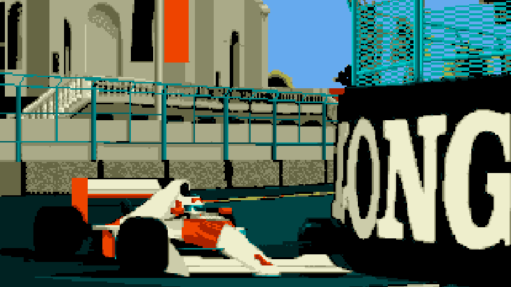 MicroProse Formula One Grand Prix Loading Splashscreen 1