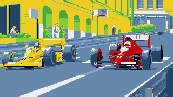 MicroProse Formula One Grand Prix Loading Splashscreen 2