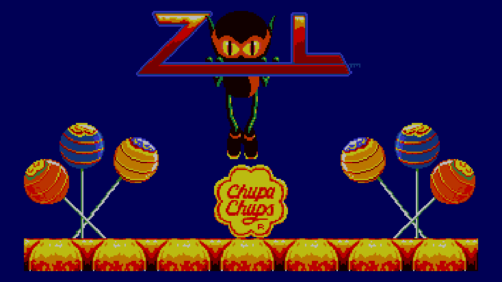 Zool Title Screen